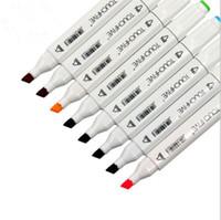 diseño de la licuadora al por mayor-Touth5 168 colores Pantones Choice Markers Colorles Blender Doub Head Sketch Copic para la animación Manga Design Painting Supplies