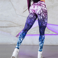leggings de cintura baja al por mayor-2018 3D Impreso Sexy Hip Push Up Leggings para Fitness Leggings de cintura baja Mujeres Jegging Leggins Jeggings Legins