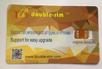 x sim bedava toptan satış-Ücretsiz DHL Çift Sim kilidini kartı ile TMSI ICCID Modu için iphone X 8 7 6 S 6 SE IOS 12.4 GEVEY Turbo sim