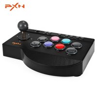 pc arcade joysticks toptan satış-Orijinal PXN-0082 Arcade PC için Kablolu Joystick Oyun Denetleyicisi USB Arayüzü PS3 PS4 Xbox one