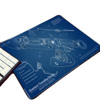 estera de juego de impresión al por mayor-Mairuige Cool Game Creativo Diy Patrón de Diseño Impreso Rubber Computer Mouse Portal 2 Video Gaming Mouse Pad Table Laptop Mat