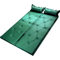Wholesale single camping air mattress - Manufacturer direct selling outdoor products single person can stitching double automatic air cushion for the mattress.
