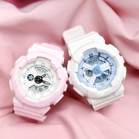 Wholesale pin electronics - 2018 new G baby electronic waterproof watch multi time zone time outdoor sports watch box girl Mini Watch free transportation AAA