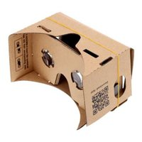 Wholesale DIY Google Cardboard Virtual Reality VR Mobile Phone D Viewing Glasses for quot Screen