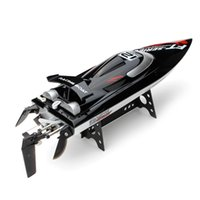 Wholesale rc brushless - 2018NEW RC BOAT FT012 High Speed RC Racing Boat Brushless Fast Self Righting 45km h VS FT011 FT010 FT009