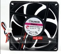 fãs sunon venda por atacado-SUNON ME80251VX-Q060-F99 Servidor Quadrado Ventilador DC 12V 1.9 W 80x80x25mm