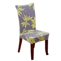 covered dining room chairs NZ - Stretch Removable Washable Short Dining Chair Protector Cover Seat Slipcover for Hotel,Dining Room,Ceremony,Banquet Wedding Party
