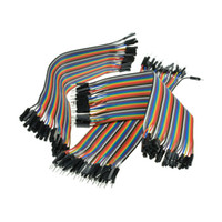 iphone cabo de usb noodles venda por atacado-120 pcs Dupont Fio Macho para Macho + Macho para Fêmea + Fêmea para Fêmea Jumper Cab B00123