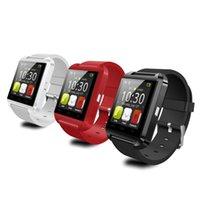 u8 smart watch box оптовых-Горячий продавать u8 smart watch phone bluetooth 4.0 smartwatch с подарочной коробкой для телефона iOS android