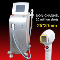 Wholesale nice screen - Wholesale Desktop Depilation Nice 808nm diodes laser Pain Free New Touch Screen Beauty Diode Laser Hair Removal 810nm laser machine