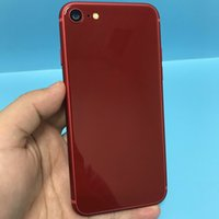 "Wholesale Goophone Black 8mp - Red Color Goophone i8 Quad Core Android 6.0 1GB 4GB 4.7"" HD 1280*720 8MP 3G WCDMA GSM Smartphone"