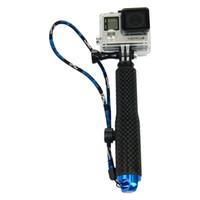 Wholesale waterproof action camera gopro resale online - Waterproof Aluminium Telescoping Handheld Monopod Selfie Stick for GoPro Hero6 plus SJ4000 xiaomi yi k Action Camera