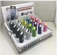 nouvelles marques de cigarettes achat en gros de-USB électronique briquet nouveauté cigarette électronique allume-cigare briquets USB blanc sans flamme flambant neuf en gros c127