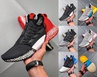sapatos de foguete venda por atacado-Off New Designer Híbrido Rocket Runner Tênis de corrida das mulheres dos homens Ignite evoknit Jelly Pipoca Absorvente Amortecimento Esporte Ao Ar Livre Sneakers