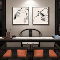 pintura moderna china venda por atacado-Nova China Sala de estar Decoração Pintura Restaurante Wall Hanging Retrato Quarto Minimalista Moderna Produtos de Decoração Para Casa