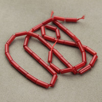 Wholesale diy coral necklace for sale - Group buy 1Strand x9mm Red Column Coral Beads Making Jewelry Ornaments DIY Necklaces Bracelets F2794