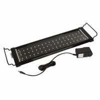 Wholesale 30cm cm cm cm Aquarium Light Fish Tank Epistar SMD LED Light Lamp Modes White Blue Marine Aquarium Led Lighting