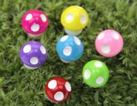 ingrosso miniature di giardino fiabesco-Funghi in resina all'ingrosso Fata Giardino Pianta artificiale Decorazione in miniatura Mini Microlandscape Artigianato Pianta in vaso Accessori