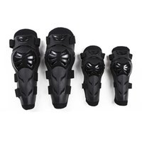 Wholesale motorcycle elbow protector - 4pcs Motorcycle Riding Protector Motorbike Racing Motocross Off-Road Bike Knee & Elbows Pads Guards Set Protective Gear