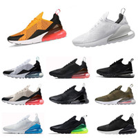 Wholesale 2018 NEW Knit flyair c men and women speed cross outdoor Training casual sneakers AIR270 runer shoes