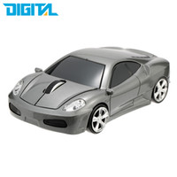 Wholesale pc game cars - Game Mouse Gamer Mouse Racing Car Shaped Wireless 1000DPI Mice for Computer PC Laptop 2.4Ghz Optical