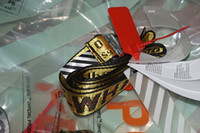Wholesale Silver Needles - Belts Men Extend Long 200CM Long Fashion Yellow Belt Women Hip hop Streetwear Skateboards Virgil Abloh Industrial Man