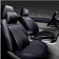cubierta de asiento de mazda al por mayor-Funda de asiento de coche personalizada para mazda cx-5 cx-7 cx-9 2 3 bk mazda 6 gh 6 gg 323 626 demio Auto accesorios Protector de asiento de coche