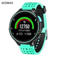 Wholesale Forerunner Garmin - SCOMAS Silicone Replacement Wrist Watch Band Strap for Garmin Forerunner 220 230 235 620 630 735 universal smart Accessories