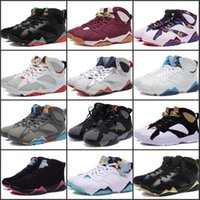 Wholesale culture mix - Best Quality 7.0 Basketball Shoes Classic VII 12 kinds of mixed colors High Training Discount Outdoor Sports Sneakers US 7-13