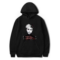 hoodie türleri toptan satış-XXXTENTACION Mens Uzun Kollu Tişörtü 6 Renkler 6 Farklı Türleri ile Büyük Boy 2XS Hip Hop Hoodies 2XS-4XL