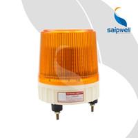 luces de marca escondidas al por mayor-IP54 a prueba de agua 12/24/110/220/380 V AC / DC tornillo de seguridad de tráfico fijo advertencia amarilla led ámbar luces de barrido de flash estroboscópicas