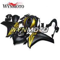 полный обтекатель honda cbr оптовых-Полный комплект обтекателя мотоцикла для Honda CBR1000RR CBR 1000RR 2008 2009 2010 2011 впрыска АБС-пластик 100% Fit кузова матовый черный корпус черного цвета