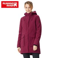 женская зимняя одежда высокого качества оптовых-RUNNING RIVER  Women Winter Hiking & Camping High Quality Warm Jackets For Woman Winter Outdoor Clothing #R8550