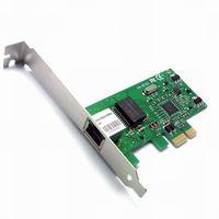 express lan karte großhandel-Neue 10/100 / 1000M Gigabit Ethernet LAN PCI-E Express Netzwerk Desktop Controller Karte