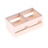 minyatür ölçek toptan satış-1/12 Ölçekli Dollhouse Mobilya Mutfak Odası Kitleri Minyatür Ahşap Çerçeveli