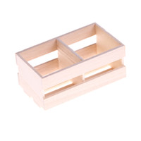kits de muebles de casa de muñecas de madera al por mayor-1/12 Scale Dollhouse Furniture Cocina Kits de habitación Miniature Wood Framed