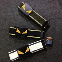 cinturones de lona de alta calidad al por mayor-Monstruo de la correa de lona de moda diseñador superior de la correa de las correas de los hombres de los hombres del deporte de la correa de alta calidad tela de lona