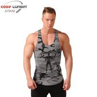 d3d2717df35a bodybuilding Singlets Mens Tank Tops Style Camouflage Men Vest Sexy  Camouflage Men s Gyms Clothing tank top men