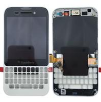 böğürtlen dokunmatik ekranlı sayısallaştırıcı toptan satış-Blackberry Q5 Için LCD LCD Ekran Yedek ekran Dokunmatik Ekran Digitizer Çerçeve Meclisi ile Ücretsiz DHL Kargo