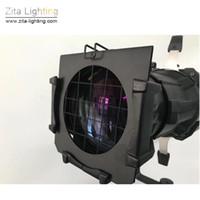 fotografía de iluminación de foco al por mayor-2 Unids / lote Zita Lighting LED LEKO 200 W Proyectores Pro Imagen Elipsoidal Fotografía Spot Lights Estudio de Iluminación de Escenario Enfoque Luces de Seguimiento