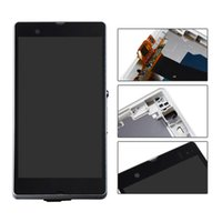 """Wholesale Touch Screen Xperia Z - No Dead Pixel 1920*1080 New 5.0"""" For Sony Xperia Z L36 LCD Display Screen Touch Digitizer Panel Assembly Replacement + Tools"""