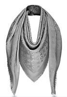 impresión en cm al por mayor-Diseño de la celebridad de alta calidad cachemir franja de algodón bufanda mujer carta impresión bufandas chal abrigo cuadrado grande 140 * 140 cm