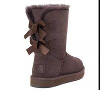 botas de nieve de moda para mujer al por mayor-ENVÍO GRATIS 2018 VENTA Nueva Moda Australia classic NUEVAS botas para mujer Bailey BOW Boots Botas de nieve para mujer arranque invierno