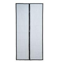 cryptage gratuit achat en gros de-210 x 100 cm mains libres magnétiques d'été anti-moustiques rideaux chiffrement moustiquaire sur les aimants de porte écran porte rideau