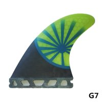 Wholesale futures surf - MOYLOR FUTURE G5 G7 Surfboard Fins Tail Rudder FRP Fin Surf Fins for Surfing Tri-set F