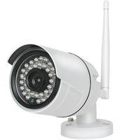 güvenlik hdd toptan satış-4CH HD Kablosuz 720 P NVR 4 ADET 1.0MP IR Açık P2P Wifi IP CCTV Güvenlik Kamera Sistemi Gözetim Kiti 1 TB HDD