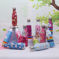 Wholesale alloy 17 resale online - Creative Stainless Steel Vacuum Cup Lovely Portable Outdoor Unicorn Sports Water Bottle Cute Animal Deer Travel Bottles yc Ww