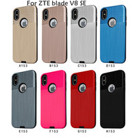 Wholesale protective phone cases zte online – custom For ZTE blade L7 blade v8 se Hybrid Dual Layer Armor Cases For Huawei Y7 PRIME Protective Back Case Shockproof phone Cover B