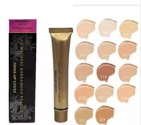 Wholesale makeup primers - DC Concealer Foundation Make Up Cover 14 colors Primer DC Concealer Base Professional Face Makeup Contour Palette Makeup Base DHL ship
