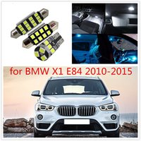 Wholesale e84 bmw x1 - WLJH 13pcs Canbus LED Car lighting Light for BMW X1 E84 LED Interior light LED Kit 2010 2011 2012 2013 2014 2015